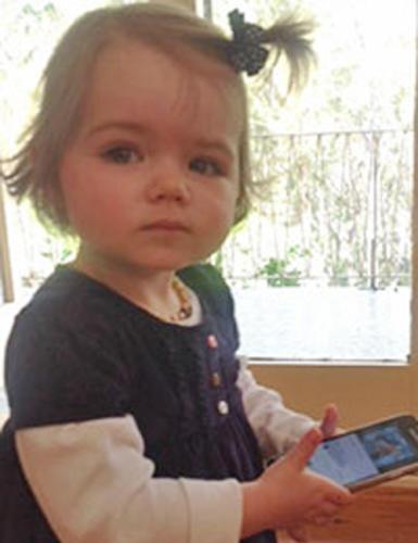 Willow - Sarah's granddaughter (DOB: 2/1/2013)