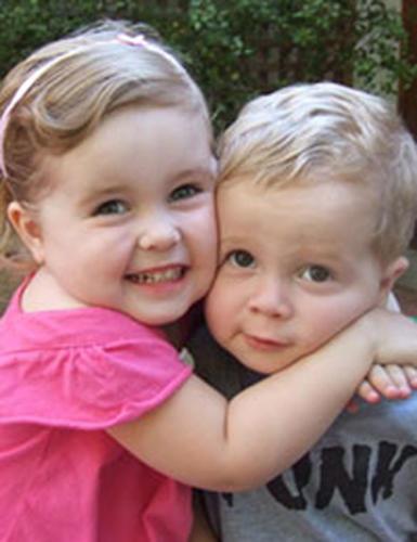 Charlie (DOB: 29/11/2006) and Bryce (DOB: 29/4/2008) - both IVF babies